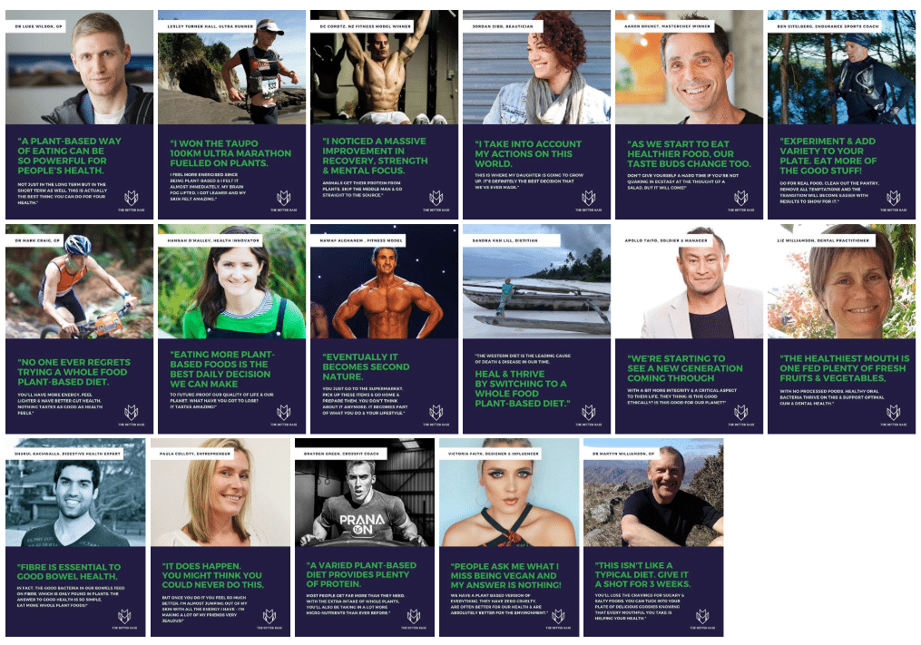 Healthy, fit vegan plant-based New Zealand leaders share why their lifestyle rocks